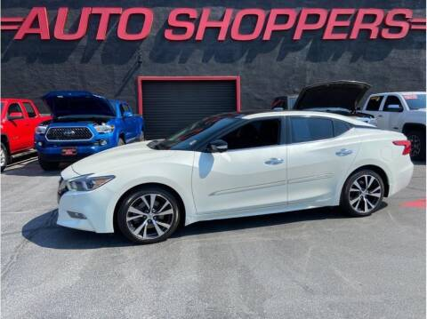 2016 Nissan Maxima for sale at AUTO SHOPPERS LLC in Yakima WA