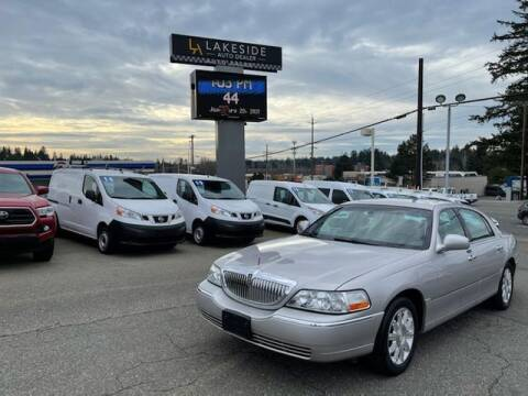 2010 Lincoln Town Car for sale at Lakeside Auto in Lynnwood WA