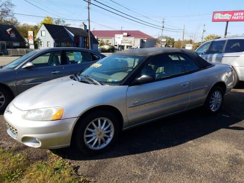 2001 Chrysler Sebring for sale at Wildwood Motors in Gibsonia PA