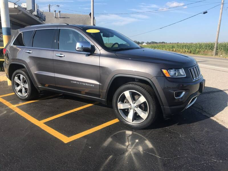 2016 Jeep Grand Cherokee for sale at Huggins Auto Sales in Hartford City IN