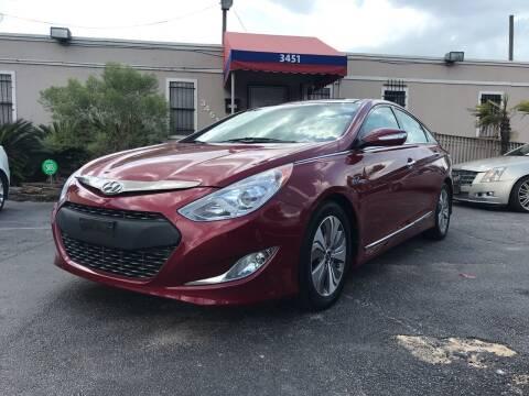 2013 Hyundai Sonata Hybrid for sale at Saipan Auto Sales in Houston TX