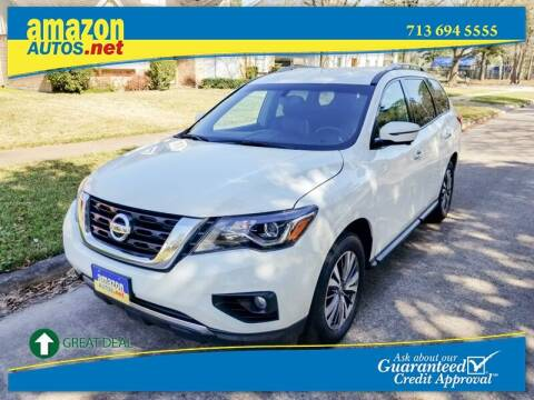 2017 Nissan Pathfinder for sale at Amazon Autos in Houston TX