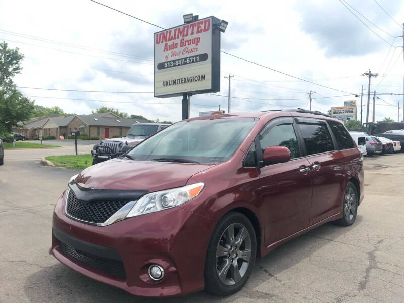 2015 Toyota Sienna for sale at Unlimited Auto Group in West Chester OH