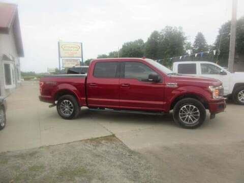 2018 Ford F-150 for sale at Stoufers Auto Sales, Inc in Madison Lake MN