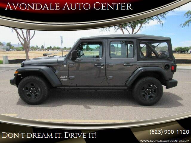 2018 Jeep Wrangler Unlimited for sale at Avondale Auto Center in Avondale AZ