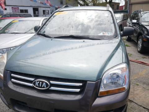 2008 Kia Sportage for sale at GARET MOTORS in Maspeth NY
