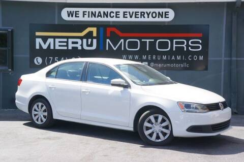 2014 Volkswagen Jetta for sale at Meru Motors in Hollywood FL