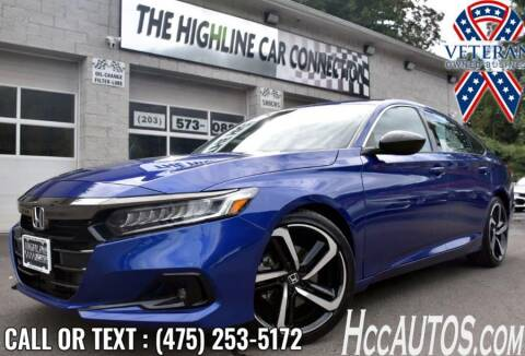 2021 Honda Accord for sale at The Highline Car Connection in Waterbury CT