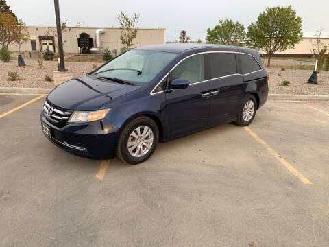 2016 Honda Odyssey for sale at BISMAN AUTOWORX INC in Bismarck ND