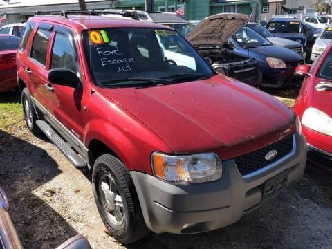 2001 Ford Escape for sale at Castagna Auto Sales LLC in Saint Augustine FL