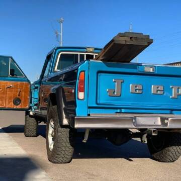 1978 Jeep J-20 Pickup for sale at Classic Car Deals in Cadillac MI