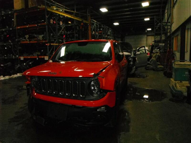 2018 Jeep Renegade for sale at CousineauCrashed.com in Weston WI