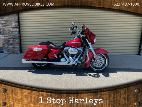 2012 Harley-Davidson Street Glide for sale at 1 Stop Harleys in Peoria AZ