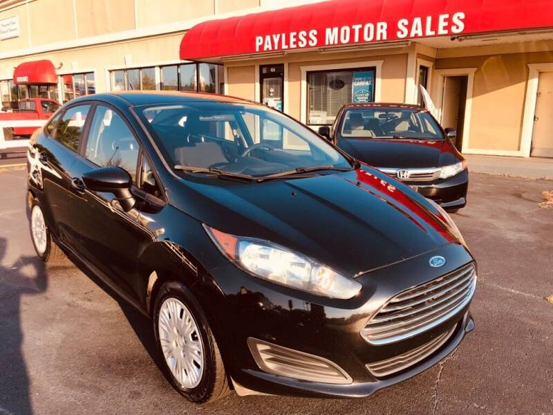 2016 Ford Fiesta for sale at Payless Motor Sales LLC in Burlington NC