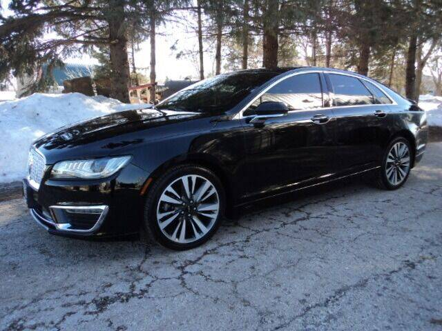 2017 Lincoln MKZ for sale at HUSHER CAR COMPANY in Caledonia WI