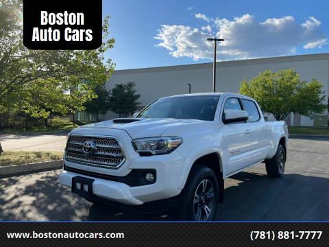 2016 Toyota Tacoma for sale at Boston Auto Cars in Dedham MA