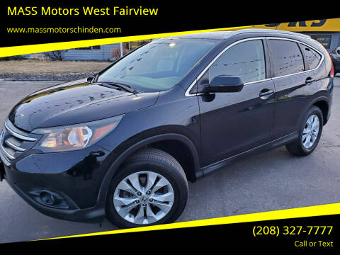 2013 Honda CR-V for sale at MASS Motors West Fairview in Boise ID