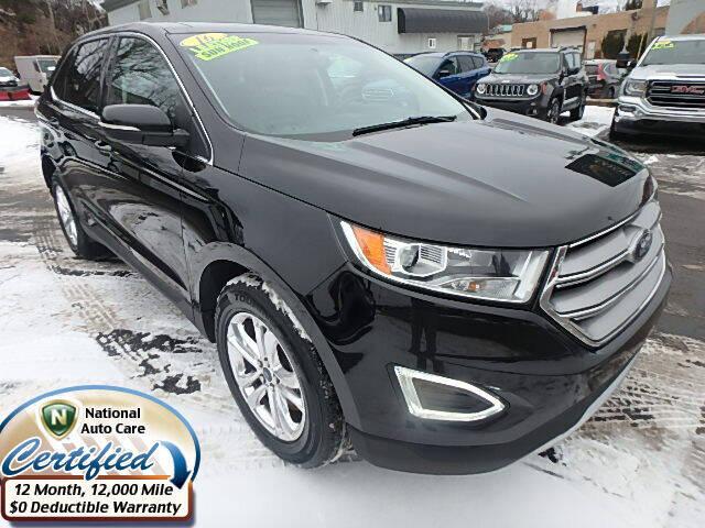 2016 Ford Edge for sale at Jon's Auto in Marquette MI