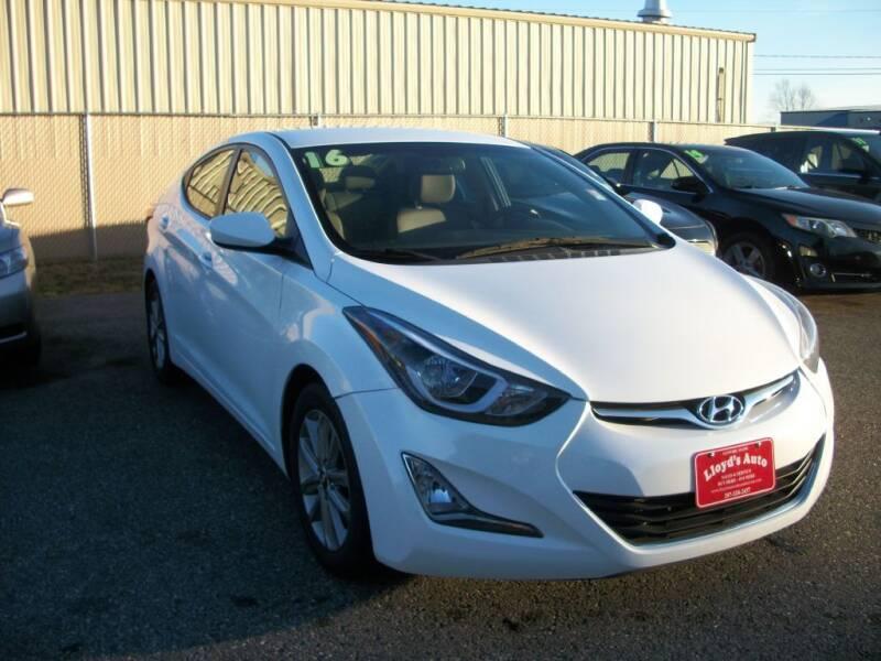 2016 Hyundai Elantra for sale at Lloyds Auto Sales & SVC in Sanford ME