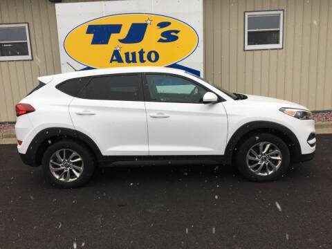 2018 Hyundai Tucson for sale at TJ's Auto in Wisconsin Rapids WI