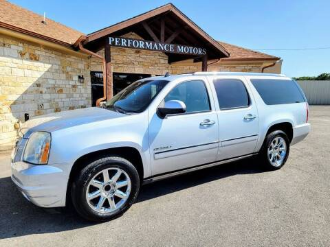 2012 GMC Yukon XL for sale at Performance Motors Killeen Second Chance in Killeen TX