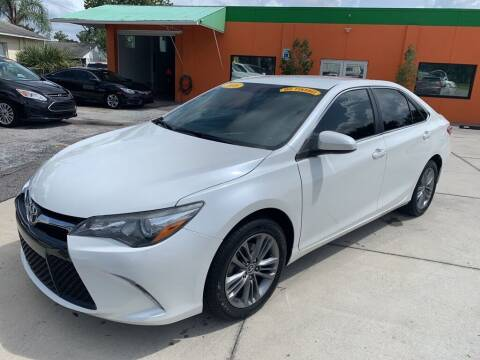 2016 Toyota Camry for sale at Galaxy Auto Service, Inc. in Orlando FL