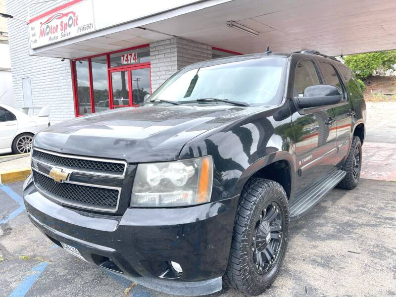 2008 Chevrolet Tahoe for sale at MotorSport Auto Sales in San Diego CA