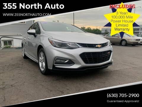 2017 Chevrolet Cruze for sale at 355 North Auto in Lombard IL