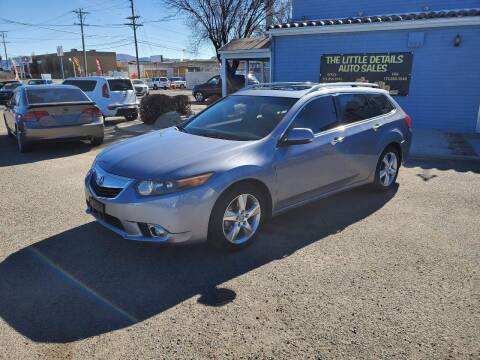2011 Acura TSX Sport Wagon for sale at The Little Details Auto Sales in Reno NV