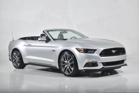 2017 Ford Mustang for sale at Motorcar Classics in Farmingdale NY