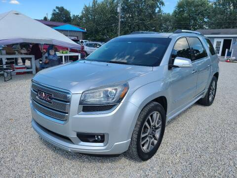 2013 GMC Acadia for sale at Davidson Auto Deals in Syracuse IN