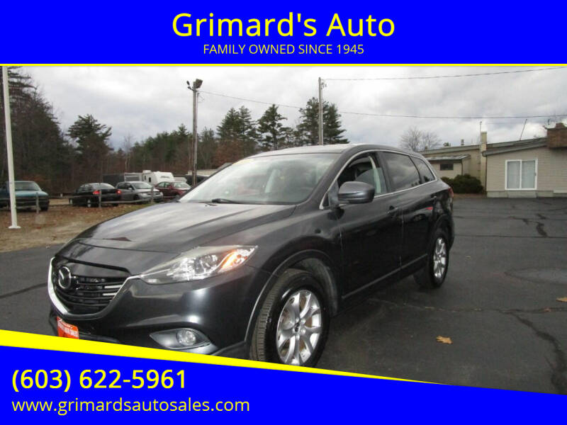 2014 Mazda CX-9 for sale at Grimard's Auto in Hooksett, NH