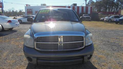 2008 Dodge Ram Pickup 1500 for sale at Auto Mart - Moncks Corner in Moncks Corner SC