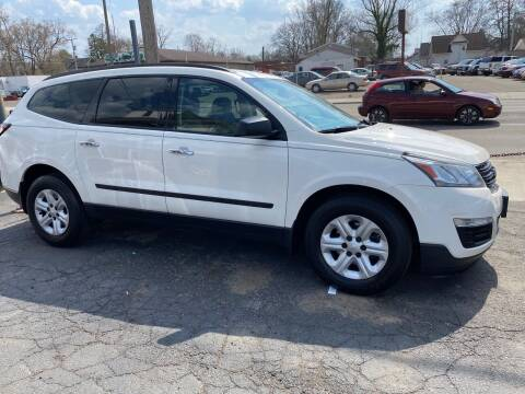 2014 Chevrolet Traverse for sale at E & A Auto Sales in Warren OH