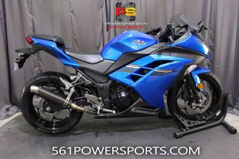 2017 Kawasaki Ninja 300 ABS for sale at Powersports of Palm Beach in Hollywood FL