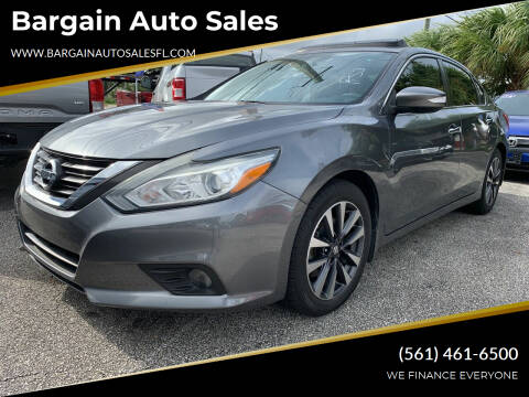 2016 Nissan Altima for sale at Bargain Auto Sales in West Palm Beach FL