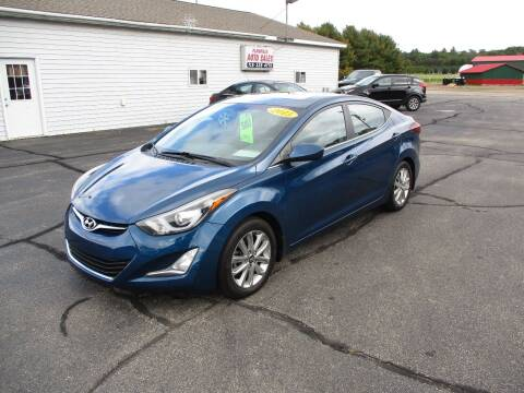 2015 Hyundai Elantra for sale at Plainfield Auto Sales, LLC in Plainfield WI