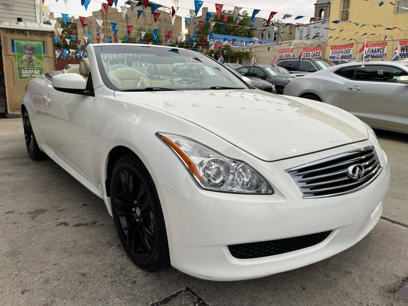 2009 Infiniti G37 Convertible for sale at Elite Automall Inc in Ridgewood NY