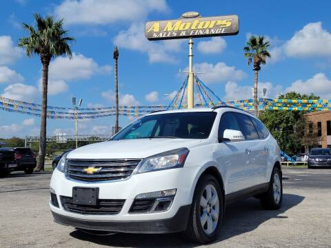 2016 Chevrolet Traverse for sale at A MOTORS SALES AND FINANCE in San Antonio TX