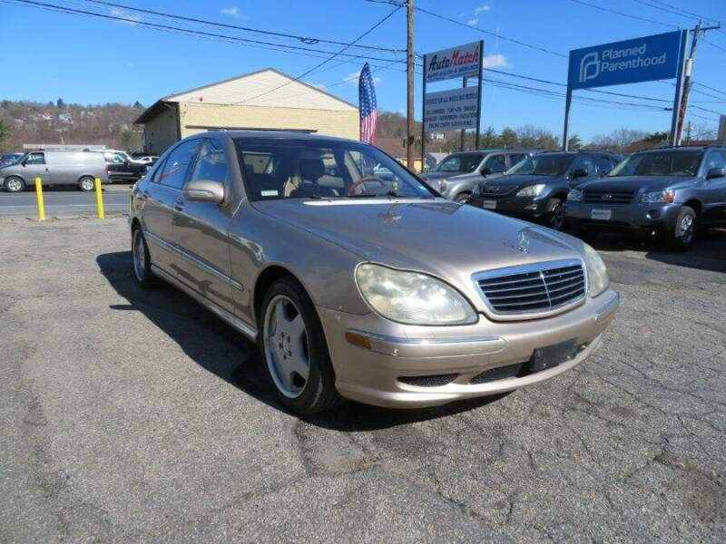 2002 Mercedes-Benz S-Class for sale at Auto Match in Waterbury CT