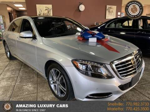 2016 Mercedes-Benz S-Class for sale at Amazing Luxury Cars in Snellville GA