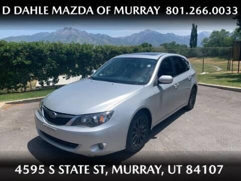 2009 Subaru Impreza for sale at D DAHLE MAZDA OF MURRAY in Salt Lake City UT