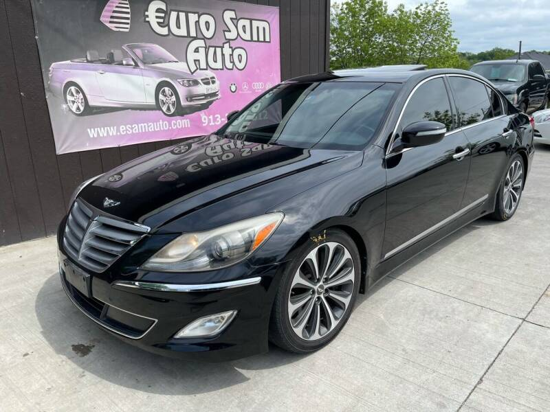 2012 Hyundai Genesis for sale at Euro Auto in Overland Park KS