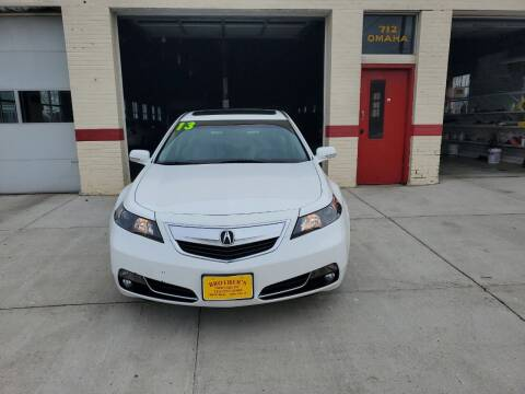 2013 Acura TL for sale at Brothers Used Cars Inc in Sioux City IA