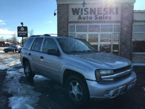 2007 Chevrolet TrailBlazer for sale at Wisneski Auto Sales, Inc. in Green Bay WI
