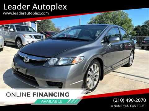 2009 Honda Civic for sale at Leader Autoplex in San Antonio TX