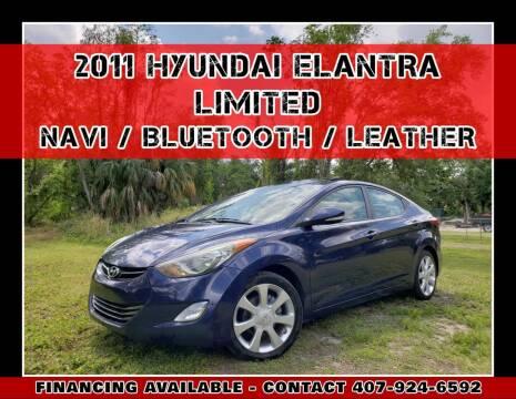 2011 Hyundai Elantra for sale at AFFORDABLE ONE LLC in Orlando FL
