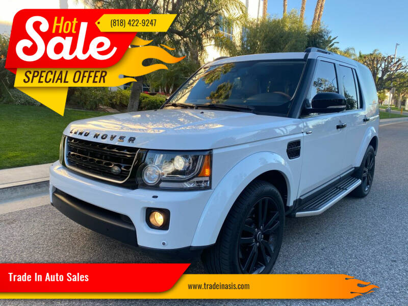 2015 Land Rover LR4 for sale at Trade In Auto Sales in Van Nuys CA