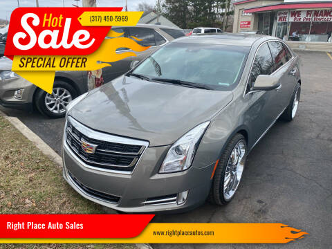2017 Cadillac XTS for sale at Right Place Auto Sales in Indianapolis IN