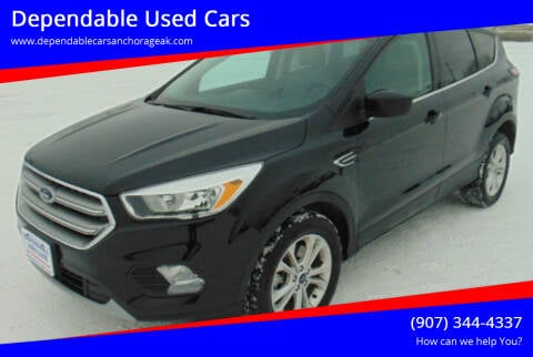 2017 Ford Escape for sale at Dependable Used Cars in Anchorage AK